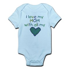 With All My Hear Infant Bodysuit