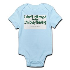 Don't Talk Much Infant Bodysuit