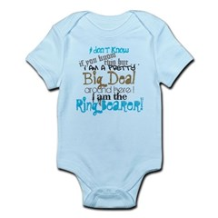 Big Deal Ring Bearer Infant Bodysuit