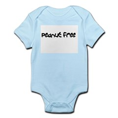 Peanut allergy Infant Bodysuit