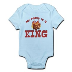 Daddy is a BBQ King Infant Bodysuit
