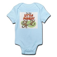 Little Monkey Infant Bodysuit
