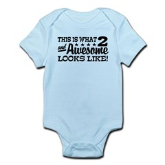 Funny Two Year Old Infant Bodysuit