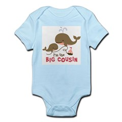 Big Cousin - Whale Infant Bodysuit