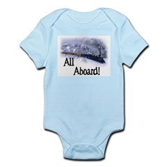 Trains Kids Infant Bodysuit