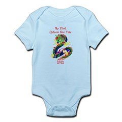 My First Chinese New Year Infant Bodysuit Infant Bodysuit
