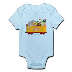 Freight Car Infant Bodysuit