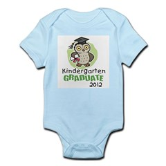 Kindergarten Graduate 2012 - Owl Infant Bodysuit