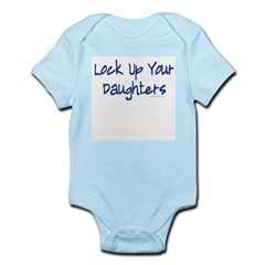 &quot;Lock Up Your Daughters&quot; Kids Infant Bodysuit