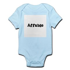 Affable Kids Infant Bodysuit