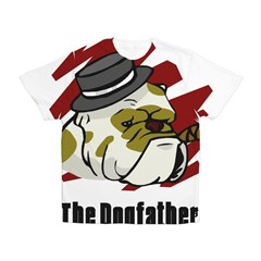The Dogfather Kid's All Over Print T-Shirt