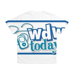 WDW Today Kid's All Over Print T-Shirt