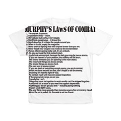 Murphy's Laws of Comba Kid's All Over Print T-Shirt