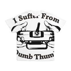 Dumb Thumbs Kid's All Over Print T-Shirt