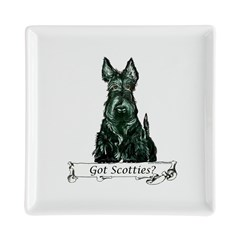 got scotties trans 10x10.png Square Cocktail Plate