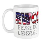 "RWCC ""Fear No Liberal"" Morning Mug"