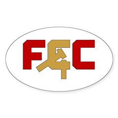 "The ""FCC"" Sticker (Oval)"