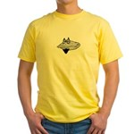 Bearded Clam Yellow T-Shirt