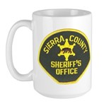 Sierra County Sheriff Large Mug