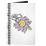 Happy Mother's Day Purple Flower Journal