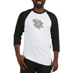 Happy Mother's Day Purple Flower Baseball Jersey