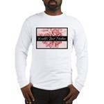 Pink Toile World's Best Mother Mom Long Sleeve T-S