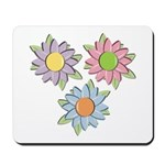 Pretty Mother's Day Cartoon Flowers Mousepad