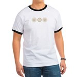 Cool Mod Mom Dots Mother's Day Ringer T