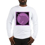 Purple Unicorn Long Sleeve T-Shirt