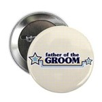 "Father of the Groom 2.25"" Button (10 pack)"