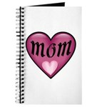 Pink Heart Mom Mother's Love Journal