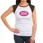 Pink Mom is my Idol Logo Women's Cap Sleeve T-Shir