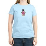 Pink Soccer Mom Cute Girl Art Women's Light T-Shir