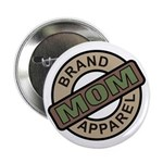Mom Name Brand Apparel Logo Button