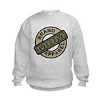 Mom Name Brand Apparel Logo Kids Sweatshirt