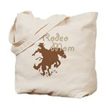 Rodeo Mom Wester Cowboy Cowgirl Tote Bag