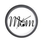 Pretty Soccer Mom Mother's Day Wall Clock