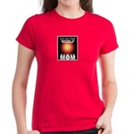 Out of this World Sci-Fi Mom Women's Dark T-Shirt