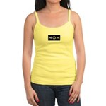 Dymo Black Label Me Mom Mother Jr. Spaghetti Tank