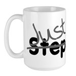 Not StepMom Just Mom Step Large Mug