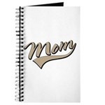 Baseball Swoosh Mom Mother's Journal