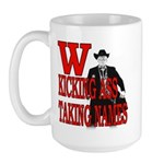 Sheriff W George Bush Cowboy Large Mug