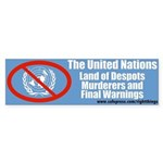 United Nations Bumper Sticker