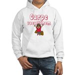 Carpe Vacationem f Hooded Sweatshirt