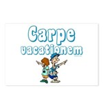 Carpe Vacationem c Postcards (Package of 8)