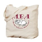 MBA Bacon Pig Tote Bag