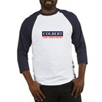 Colbert for President Baseball Jersey