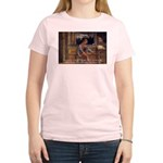 Cicero: God Nature Women's Pink T-Shirt