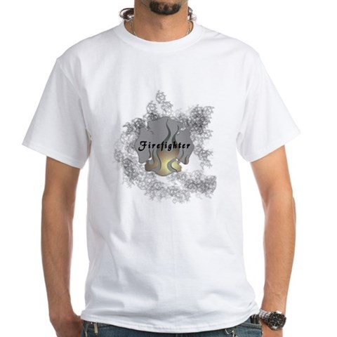 CafePress > T-shirts > Firefighter Tattoo Shirt. Firefighter Tattoo Shirt