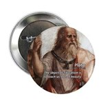 "Plato Education: 2.25"" Button (100 pack)"